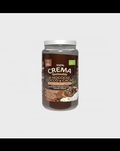 Smile Crunch - 100% Crema di Nocciole, Cocco e Cacao Bio
