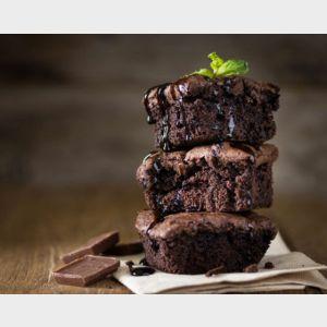 Preparato per brownies proteici