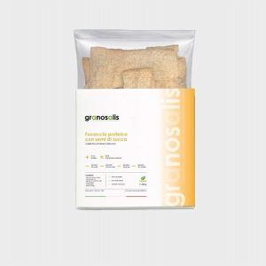 Focaccia Proteica con Farina di Semi di Zucca