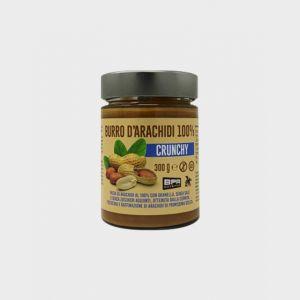 Burro d'Arachidi 100% Crunchy