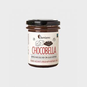 Chocobella Crema Spalmabile Nocciole e Cacao Bio senza Olio di Palma